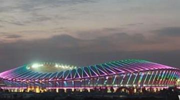 泰杰赛助力九江市体育中心
